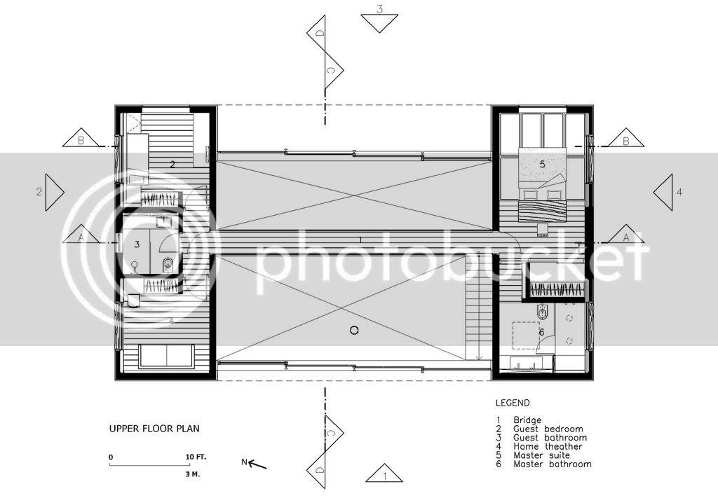 House in Iporanga, First floor plan