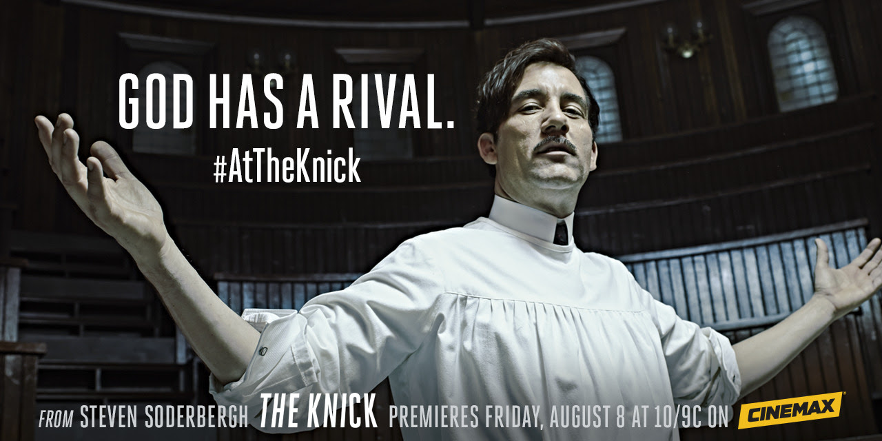 Meet Dr. John Thackery. The Knick premieres Friday at 10/9c on Cinemax.