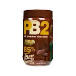 PB2 Powder Peanut Butter with Premium Chocolate - 16 oz jar
