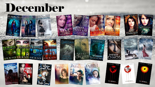 December Fantasy Calendar + Giveaway + Free books!