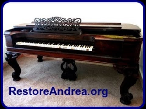 Click here to support Andrea The Piano Restoration Fund by Rubi Martinez-Bernat