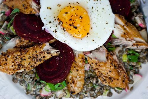 Lentil and Mackerel Salad-5