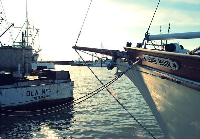 The docks - Astoria Oregon