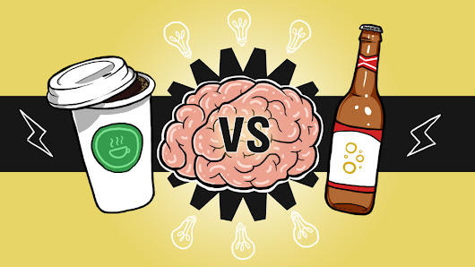Why You Should Drink Beer for Big Ideas, Coffee to Get Them Done