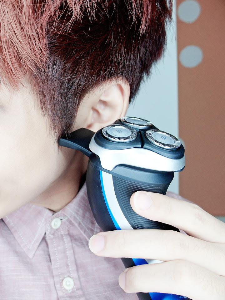 philips aquatouch electric shaver pop-up trimer