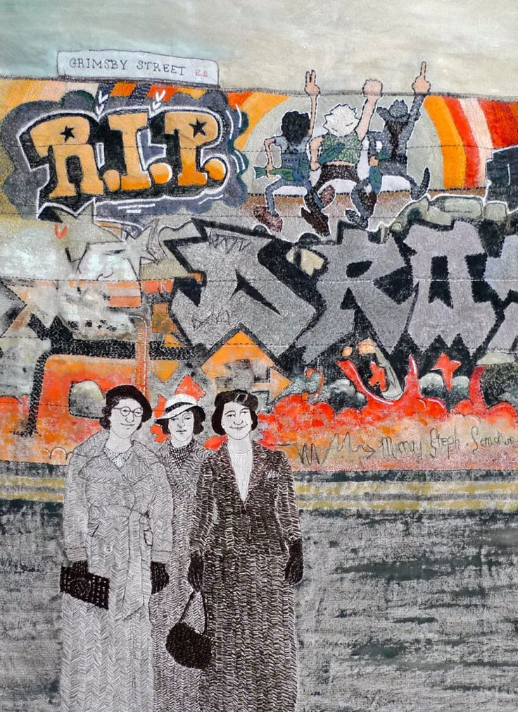 'RIP Grimsby St' by Sue Stone
