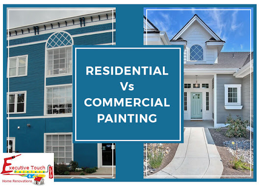 Differences between Residential and Commercial Painting