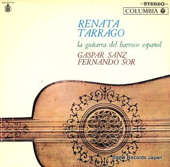 TARRAGO, RENATA la guitarra del barroco espanol