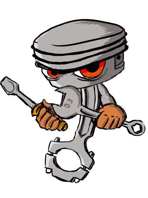 gambar piston logo drawing design  kartun keren sapawarga