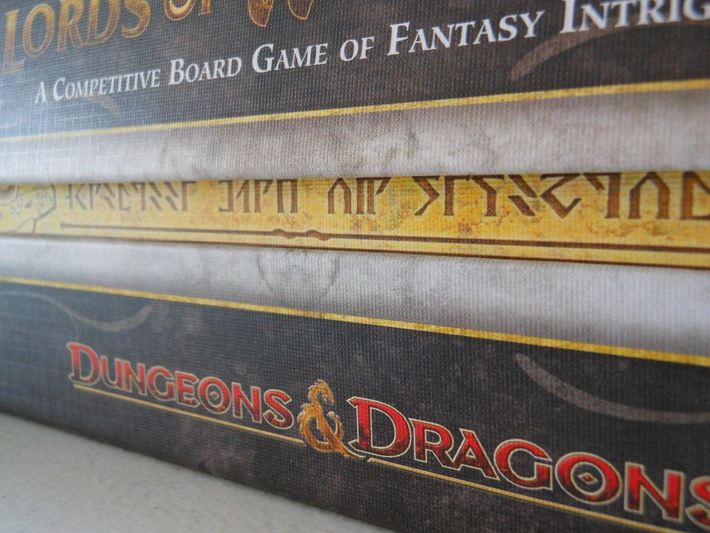 Dungeons and Dragons: Lords of Waterdeep - the box