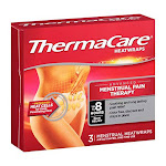 ThermaCare Advanced Menstrual Pain Therapy Heatwraps, 3 ea