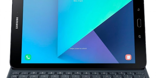 Evleaks: Samsung Galaxy Tab S3 with Magnetic Keyboard
