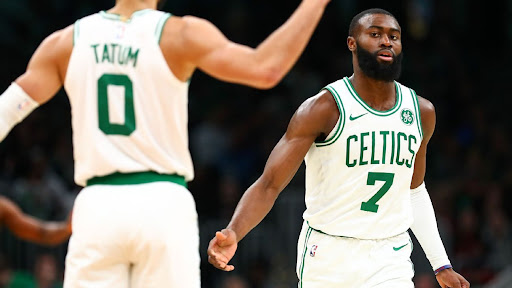 Avatar of The Celtics will go as far as Brown and Tatum carry them