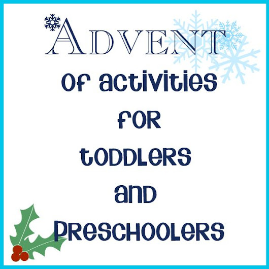 Friday Favorite's..Advent links!