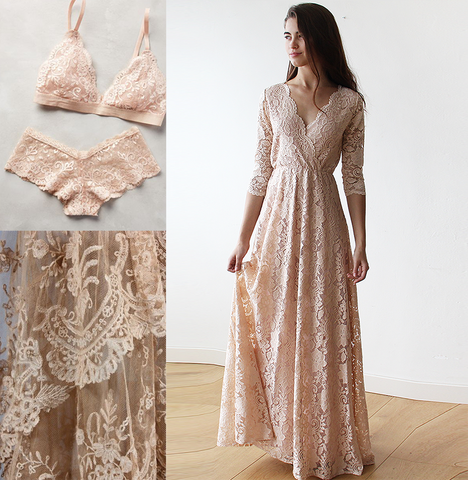 The lace trend is eternal