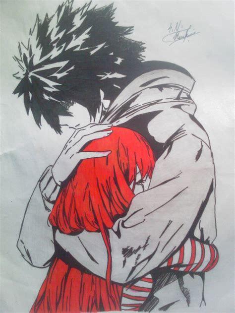 drawing random anime  kuyomi  deviantart