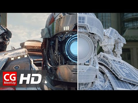 "CGI VFX Breakdown HD: ""Daloc The Robot VFX Breakdown"" by Troll VFX"