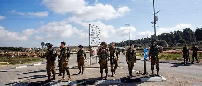 Des soldats israéliens patrouillent près de Jérusalem le lundi 1er décembre 2014 (photo d'illustration).