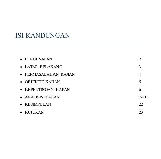 Contoh Isi Kandungan Tugasan Feed News Indonesia