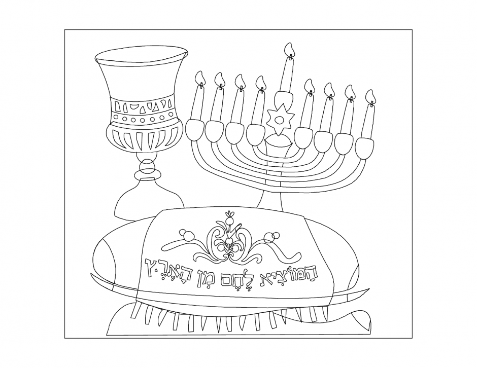 Free Chanukah Coloring Sheets, Download Free Clip Art ...