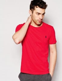 Polo Ralph Lauren T-shirt With Crew Neck & Logo