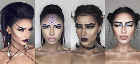 Amazing Astrology Inspired Makeup