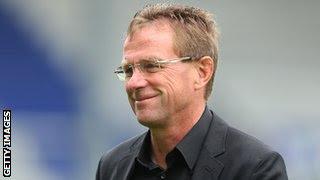 Schalke manager Ralf Rangnick