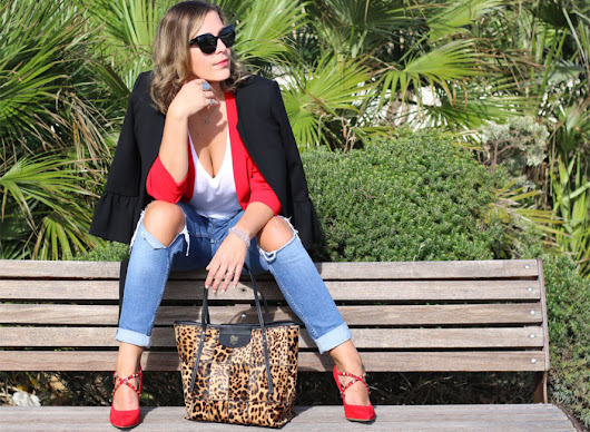 Outfit: come indossare una Tote bag animalier - Blog di moda