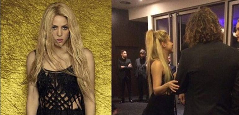 ¡Escándalo internacional! Shakira usó un vestido repetido para la boda de Messi