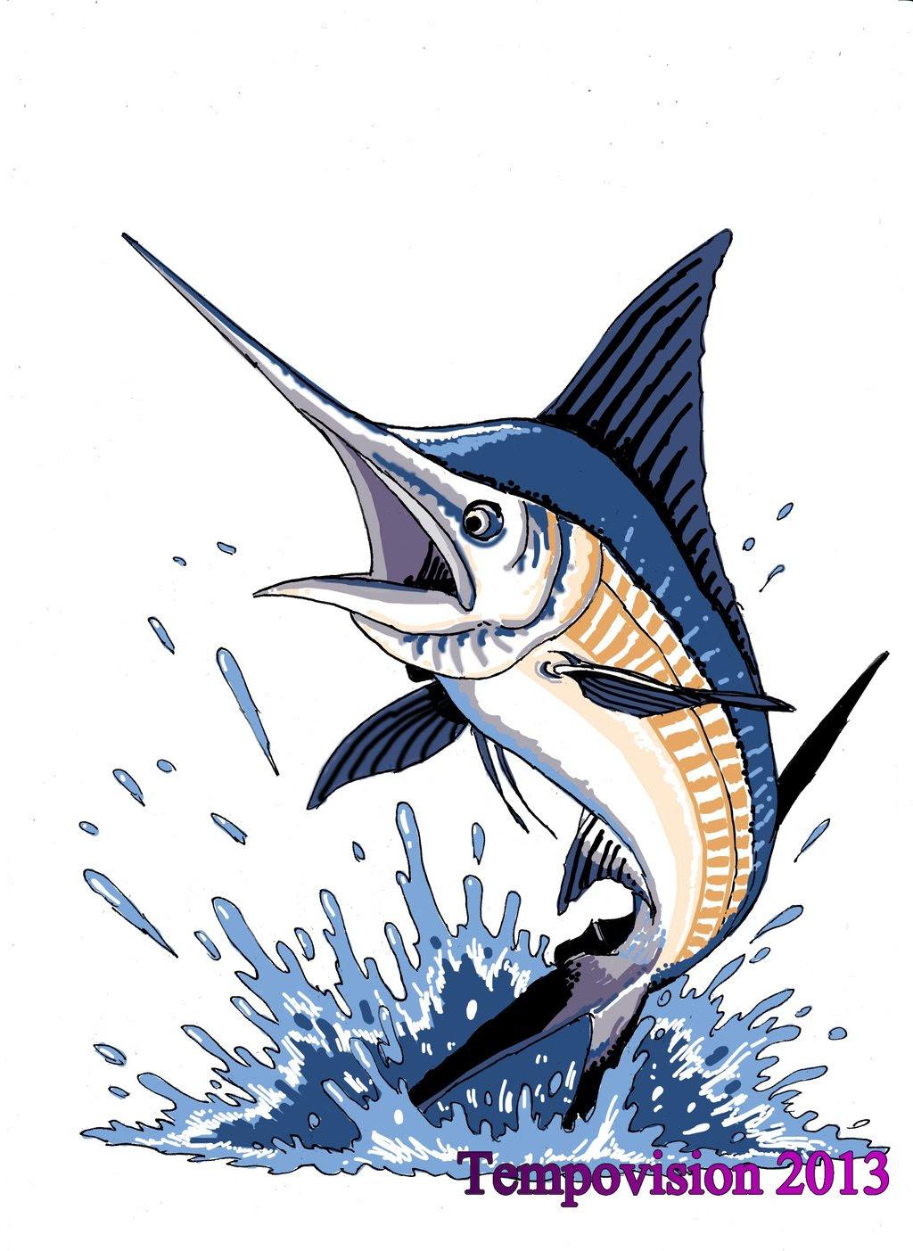 Marlin Drawing at GetDrawings | Free download
