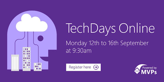 #TechDays Online broadcasting live from the Microsoft Campus #hololens #IOT #BOT #Container #Azure #Docker #MVPBuzz