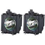 Panasonic ET-LAD55W Projector Housing with Genuine Original OEM Bulb
