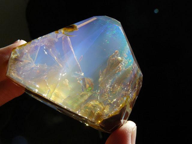 océan à l'intérieur d'une opale Oregon butte (5)