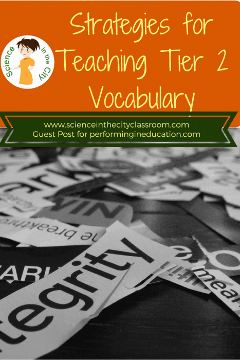 Three easy strategies to implement when your students struggle with tier 2 vocabulary and reading comprehension