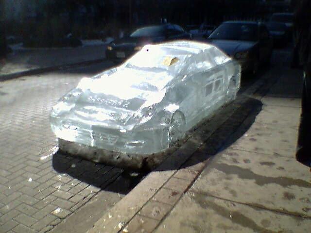 Sassafraz ice car