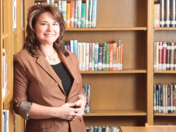 Shanna Peeples ganhou o prêmio Professor do Ano nos Estados Unidos (Foto: Davy Knapp/Divulgação/Ccsso )