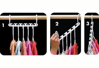 As Seen On Tv New Wonder Hanger Triples Closet Space 8packset