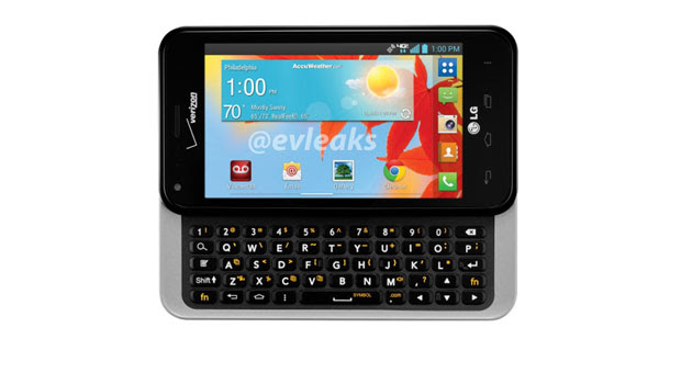 Verizon LG Enact leaks in press image, proves that the reported death of the QWERTY slider was exaggerated