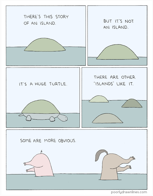 Poorly Drawn Lines – Island