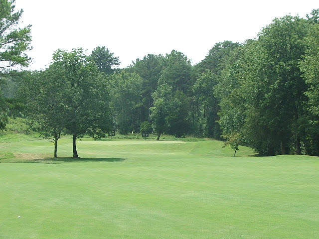 #4 approach to green