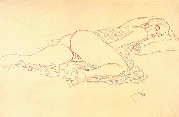 Gustav Klimt erotica sensual10
