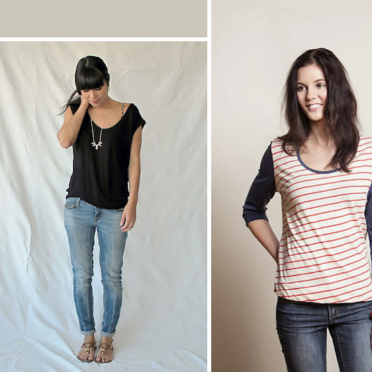 free t-shirt sewing patterns - It's Always Autumn