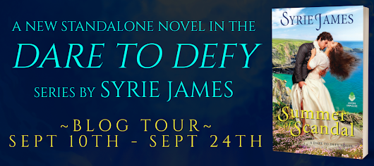 #Giveaway + Excerpt ~ Dare To Defy by Syrie James... #HistoricalRomance #books