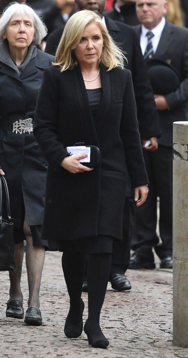 Η κόρη του Στίβεν Χόκινγκ, Λούσι (Joe Giddens/PA via AP)