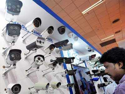 Hyderabad to be covered with CCTV cameras