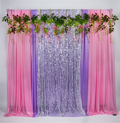 Buy Discount Kate 5x16ft Pink Purple Ice Silk Background