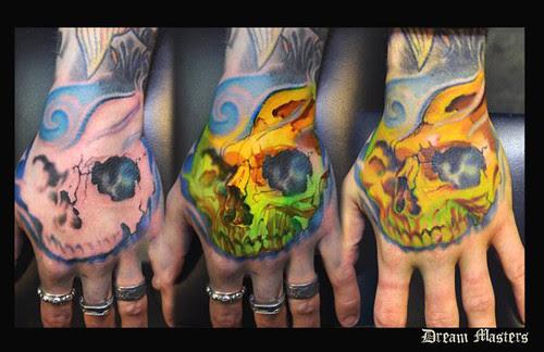 Skull Wrist Tattoo By Svetlyo Find Me A Tattoo