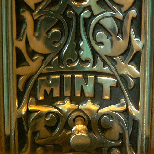 """Mint"" Slot Machine, Detail by cobalt123"