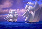 Navegando no Pacífico