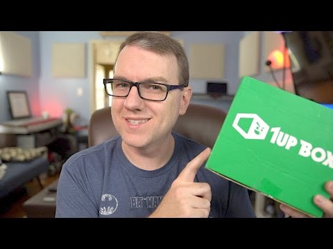 "1Up Box May 2017 ""Genius"" Subscription Box Unboxing"